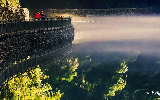 宣恩狮子关浮桥