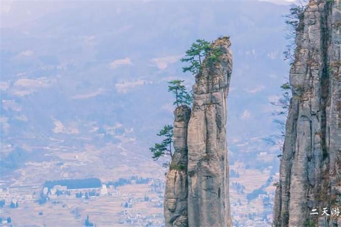 恩施大峡谷海拔多少米?