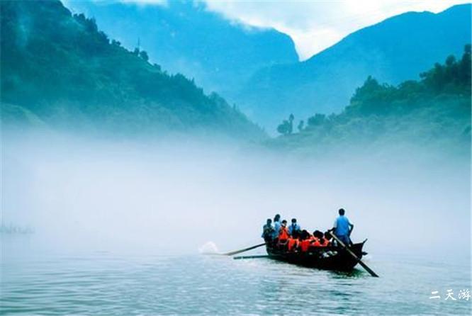 神农溪纤夫文化走廊
