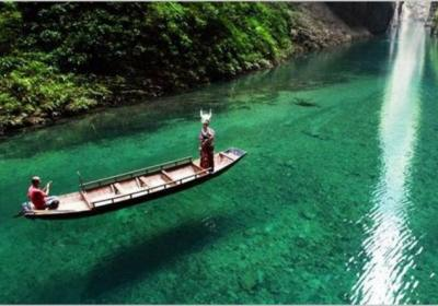 【鹤峰屏山】水清如镜的屏山峡谷