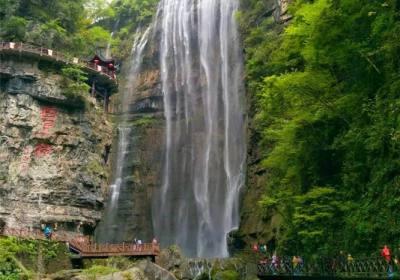 【三峡大瀑布】怎么去三峡大瀑布