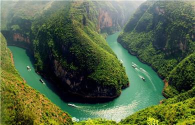 巫山小三峡游船