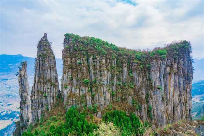 恩施大峡谷冬景 (3)