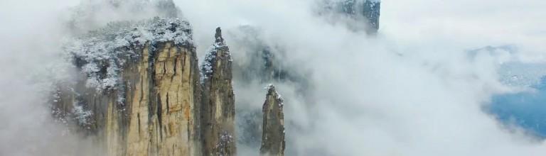 冰雪美景已上线,恩施大峡谷冬日童话世界等着你