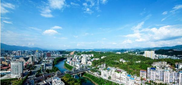 恩施城市景色图片