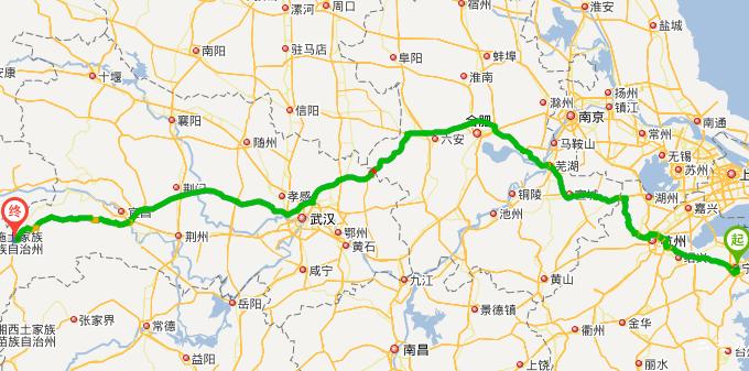 宁波手绘地图高清版
