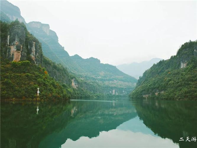 恩施清江蝴蝶崖景区高清图