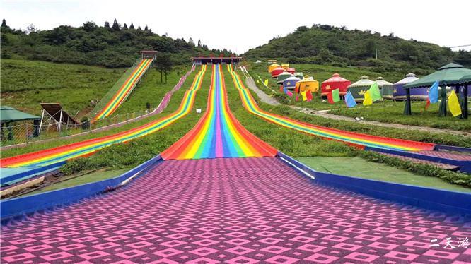 利川齐岳山滑草场