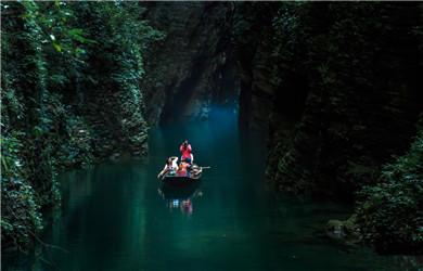 鹤峰屏山峡谷005