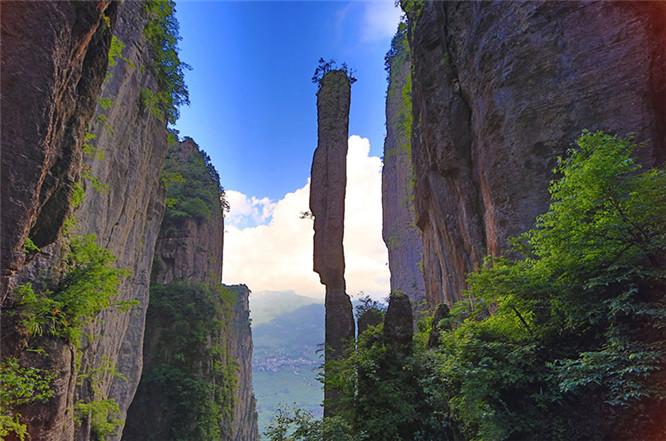恩施大峡谷冬景 (15)