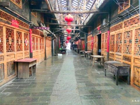 庆阳坝古街